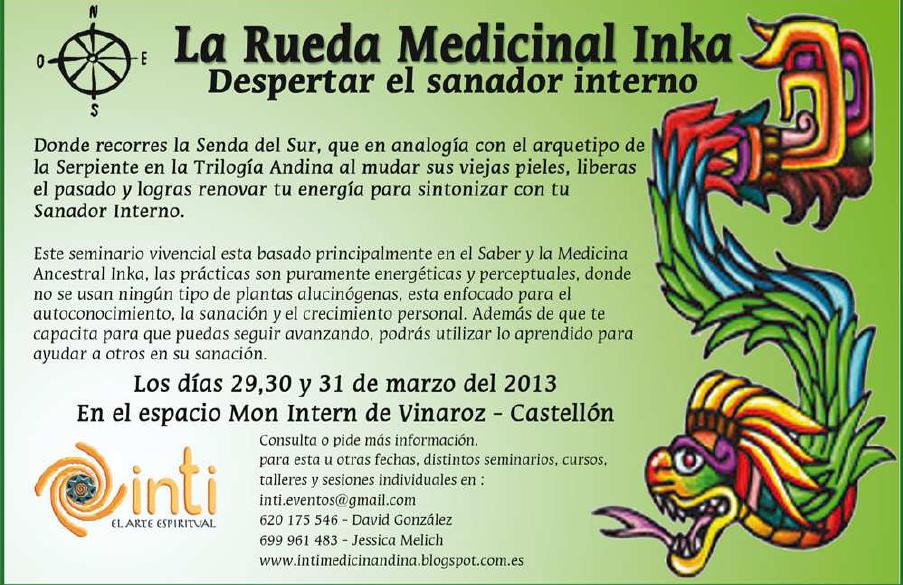 Rueda medicinal Inca